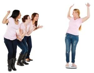 weight loss celebration