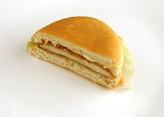 Jack in the Box Chicken Sandwich 72 grams = 200 Calories
