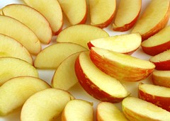 Apples 385 grams = 200 Calories