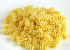 Cooked Pasta 145 grams = 200 Calories