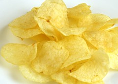 Potato Chips 37 grams = 200 Calories