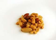 Salted Mixed Nuts 33 grams = 200 Calories